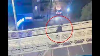 Video muestra qué pasó minutos antes de que peatón matara a tres ladrones en Bogotá