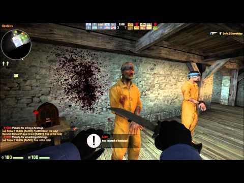 Counter Strike: Global Offensive Hostage Killing Minitage