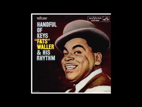 "March 1, 1929 recording ""Handful of Keys"", Fats Waller"