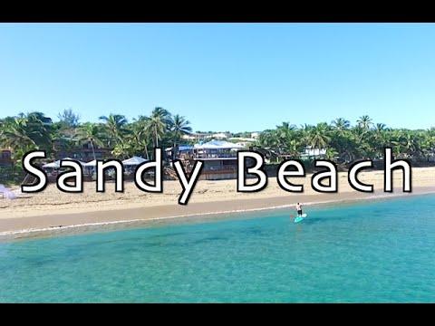 Sandy Beach At Rincon Puerto Rico