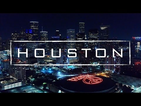 Houston By Night | 4K Drone Footage