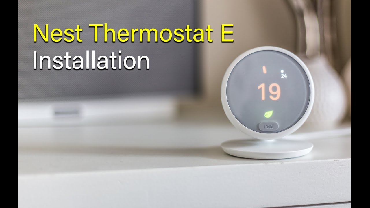 Nest Thermostat E Uk Installation First Impressions Youtube