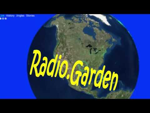 Radio Garden: listen to stations around the world on a globe