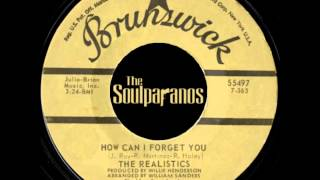 MODERN SOUL 45t - The Realistics - How Can I Forget You - 1973 Brunswick