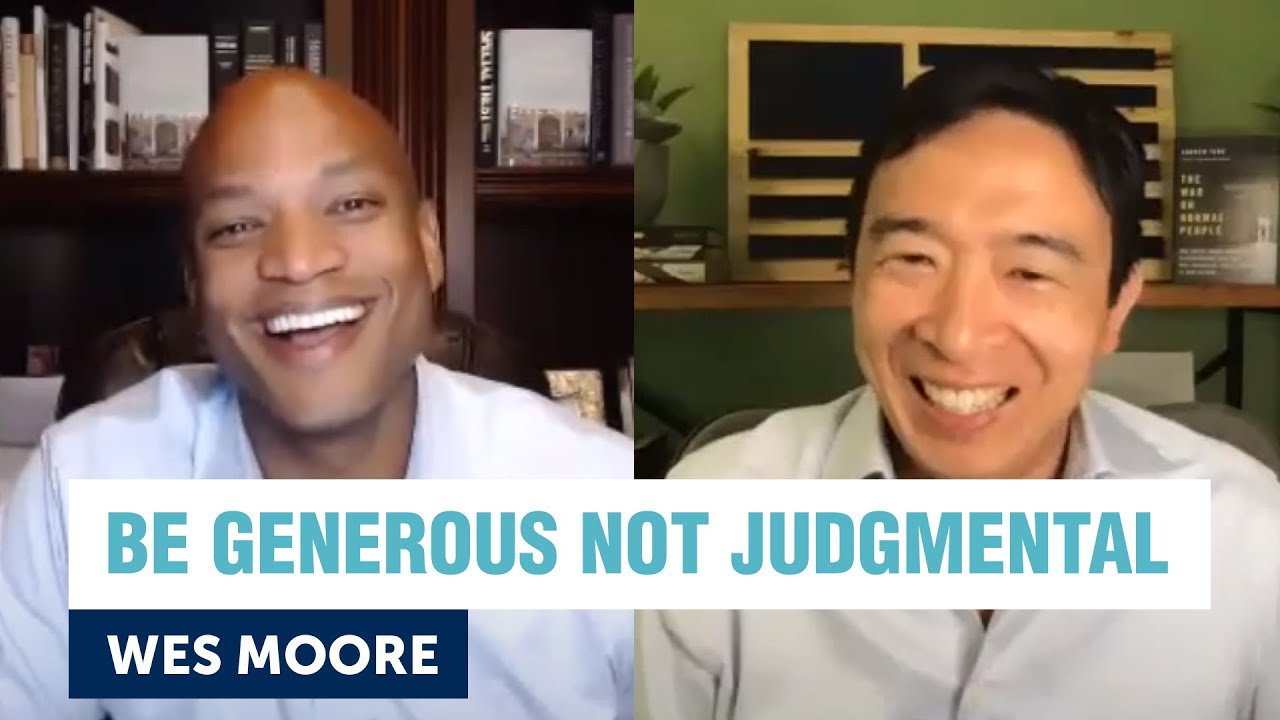 You can't have million dollar solutions to trillion dollar problems | Wes Moore & Andrew Yang