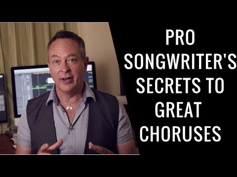 Professional Songwriter Reveals Secrets To Killer Choruses – RecordingRevolution.com