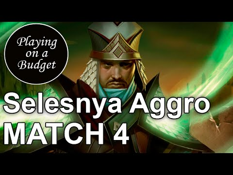 MTG Standard: Selesnya Aggro vs Sultai Villianous Wealth - Playing on a Budget