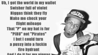 Birdman ft Nicki Minaj & Lil Wayne - Y U Mad (Lyrics On Screen)