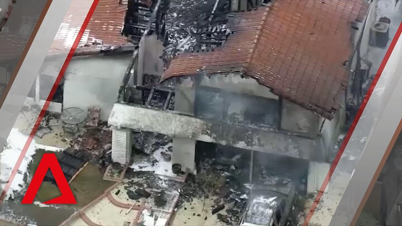 5 dead after plane crashes into California house - CNA