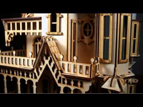 Victorian Dollhouse Kits Youtube