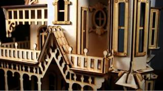 Victorian Dollhouse Kits