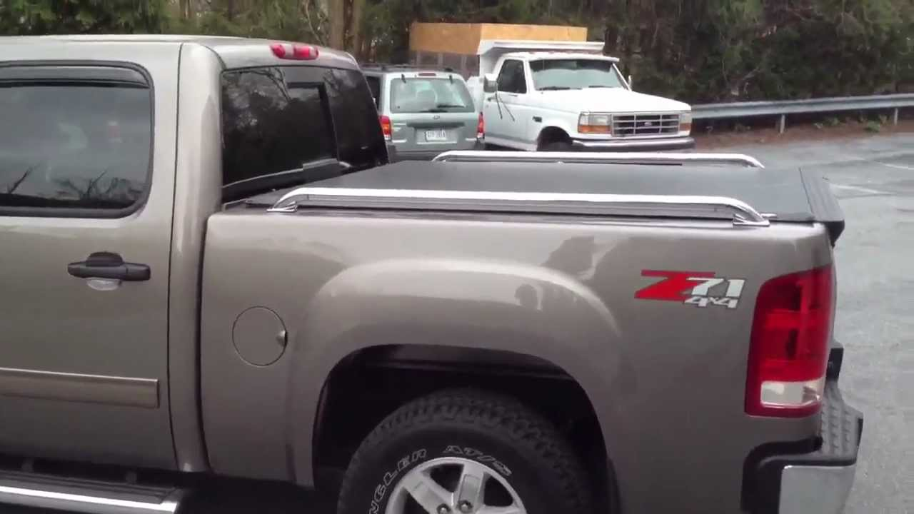 Soft Cover With Bed Rails Mud Flaps Rain Guards And A