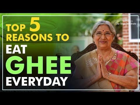 Top 5 Reasons To Eat Ghee Everyday   Dr. Hansaji Yogendra
