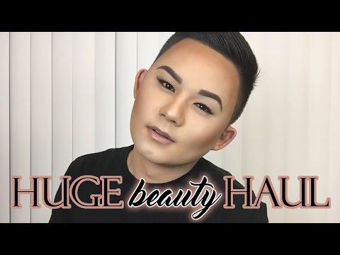 HUGE BEAUTY HAUL   High End Makeup for Cheap