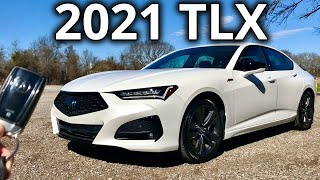 Full Review: 2021 Acura TLX | Premium Sport Sedan