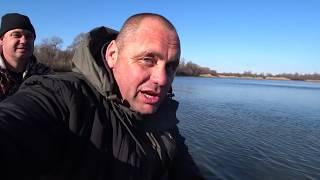 Рыбалка на хищника ловим Кружками Блесной и Кастинговой Сетью Уха