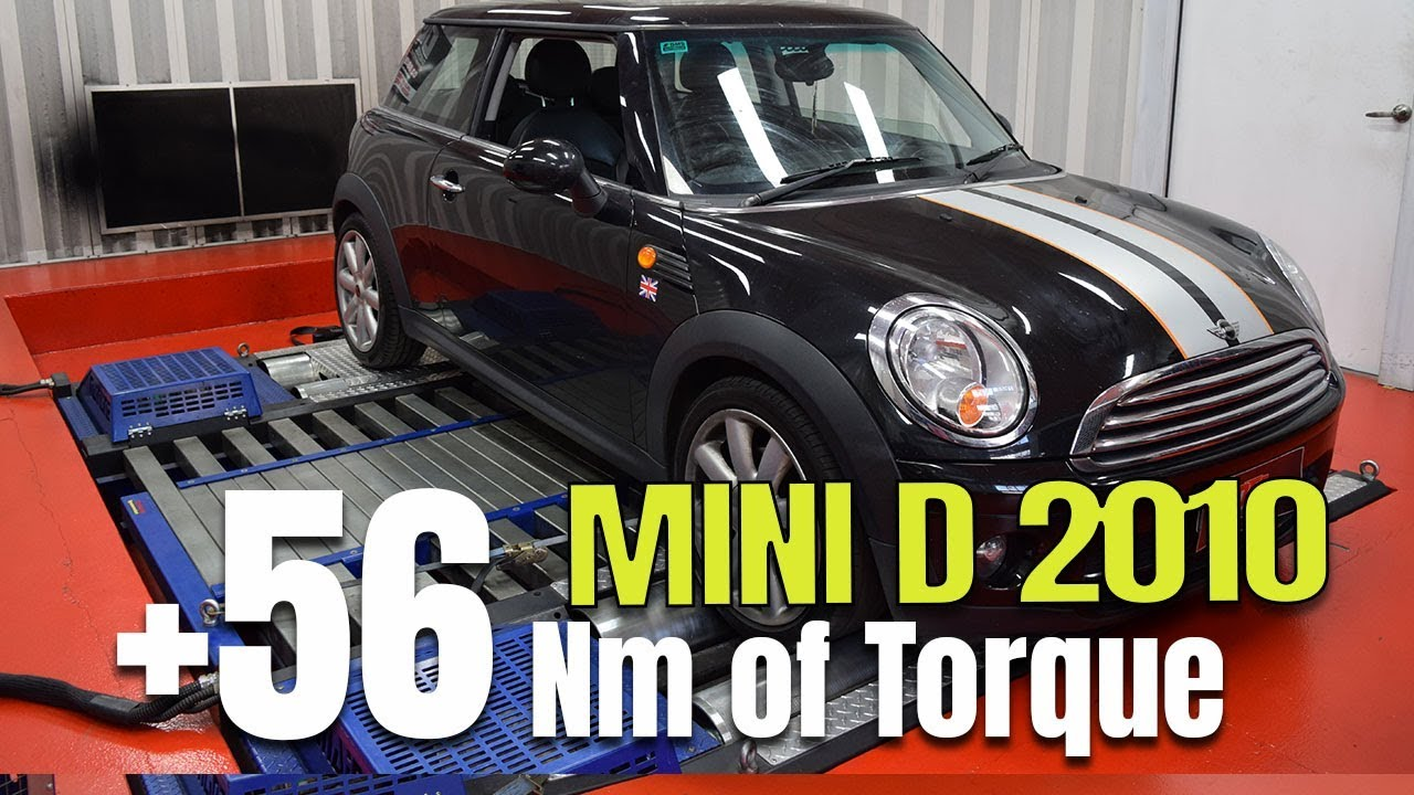 Mini Cooper D 2010 Ecu Remap Dyno Youtube