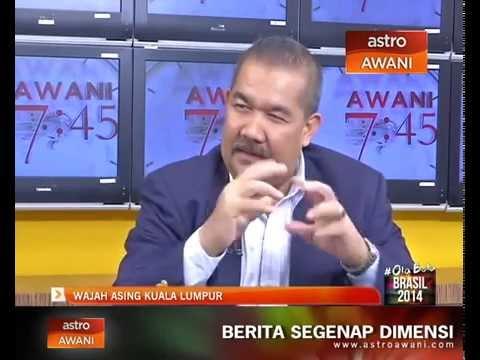 Dekan Prof. Dr. Zaid Ahmad dalam Awani