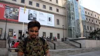 アキーラさん訪問①スペイン・マドリッド・ソフィア王妃芸術センター!Sofia-art-meuseumMadrid,Spain