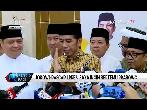 Jokowi: Pascapilpres, Saya Ingin Bertemu Prabowo