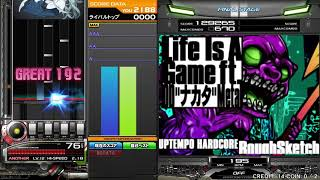 "[Beatmania IIDX25 Cannon Ballers]  Life is A Game ft.DD ""ナカタ"" Metal  SPA"