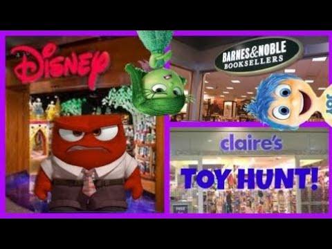 Chasse Au Jouet !! Disney Store! Barnes Et Noble! À L