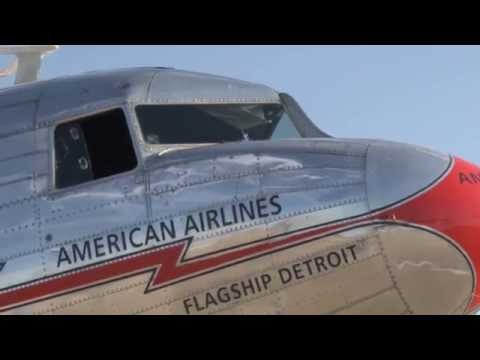 Flight On American Airlines DC-3