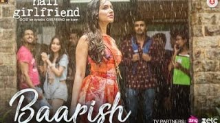 Baarish karaoke with lyrics | Half Girlfriend | Arjun K & Shraddha K | Ash King & Shashaa Tirupati |