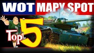 Top 5 - najlepsze mapy do spotowania w World of Tanks