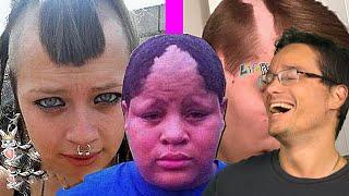 OLHA SÓ COMO FICOU O CABELO DESSE GAROTO - Cortes de cabelo fail thumbnail
