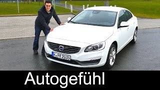 2016/2015 Volvo S60 sedan Limousine test driven FULL REVIEW - Autogefühl