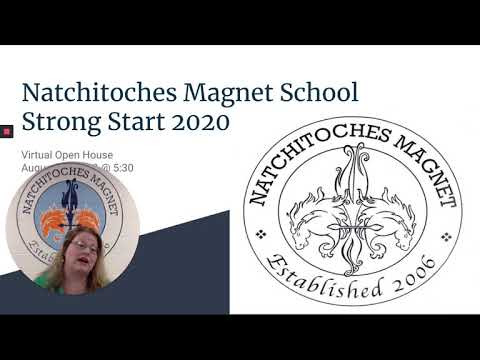 Natchitoches Magnet School Virtual Open House