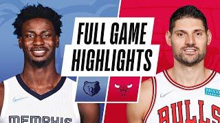 GRIZZLIES at BULLS   NBA PRESEASON FULL GAME HIGHLIGHTS   October 15, 2021