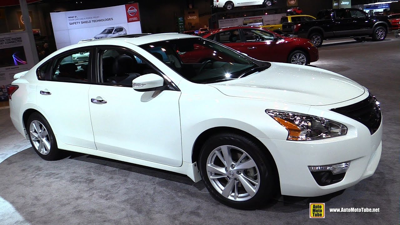 2015 Nissan Altima Sl Exterior And Interior Walkaround