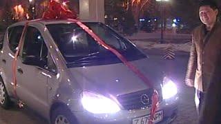 Программист подарил маме на 60 летний юбилей автомобиль. Мама в шоке. Астана