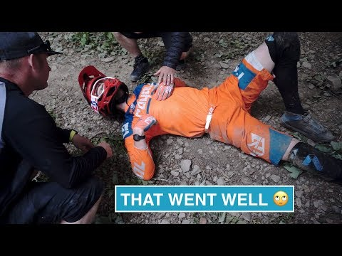 That went well... 🙄 // Risk of Concussion - Race Vlog