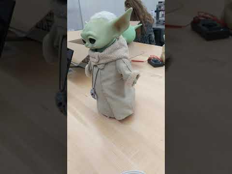 The Child Animatronic: baby yoda robot Halloween 2020