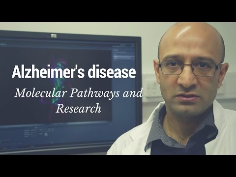 Alzheimer's disease - Molecular pathways and research