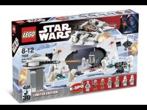 LEGO Star Wars 7666 Hoth Rebel Base       Review   YouTube