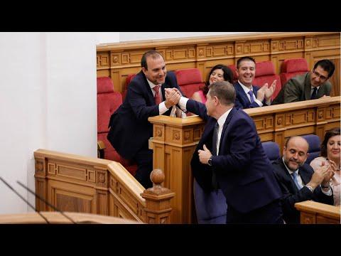 VÍDEO | Así ha sido elegido el socialista Pablo Bellido como presidente del Parlamento regional