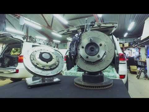 PRO спортивные тормоза и усиленные пружины на Land Cruiser 200 [полезная информация]