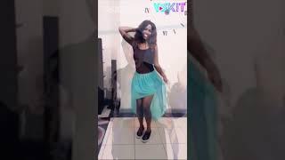 【Vskit Featured】African black beauty wearing black silk dancing / Vskit short film selection