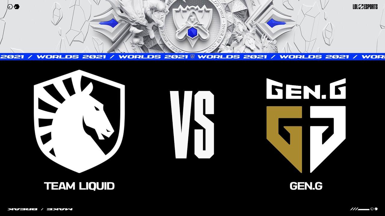 Download TL vs. GEN | Worlds Group Stage Day 7 | Team Liquid vs. Gen.G (2021)