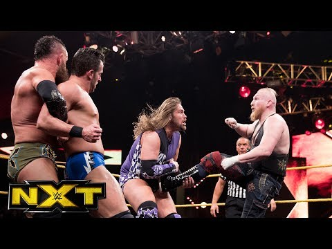 Roderick Strong & Kassius Ohno vs. Eric Young & Alexander Wolfe: WWE NXT, May 31, 2017
