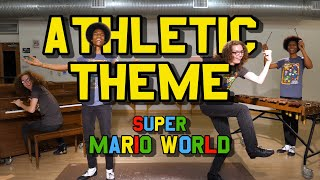 """Athletic"" Theme (w/ Piano, Xylophone, & Tap Dance) from Super Mario World!"