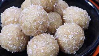 5 मिनट में बनाए टेस्टी नारियल के लड्डू - Nariyal ke Laddu- Coconut Laddu-Diwali Special Sweet Recipe