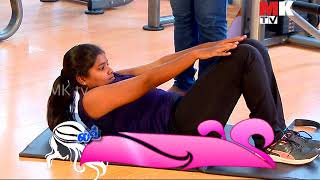 PINK FITNESS CENTRE AT VALASARAVAKKAM FOR LADIES AT MK TV CHANNEL FOR LOVELY LADIES PROGRAM