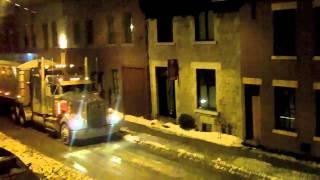 Voici comment les rues de Montréal sont déneigées