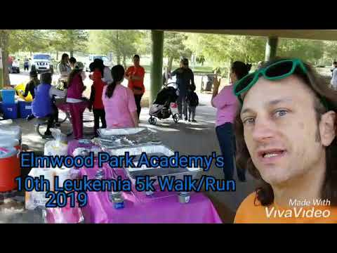 Elmwood Park Academy's Leukemia 5k walk/run. 10th year.