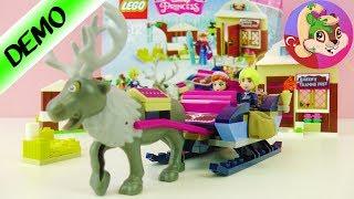Lego Frozen Buz Kraliçesi   Lego Oyuncak Tanıtım ve Yapım - Benimle Oyna